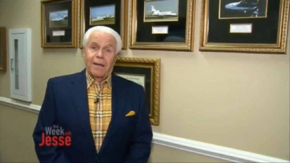 PHOTO: During his show This Week With Jesse on May 21, evangelical minister Jesse Duplantis asked worshipers to help him pay for a new jet.