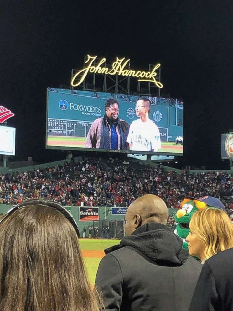 Disabled Teen Honored At World Series Says He Found Inspiration In  Jesse Quist  Of Cheyenne Wyoming Was Honored At Game  Of