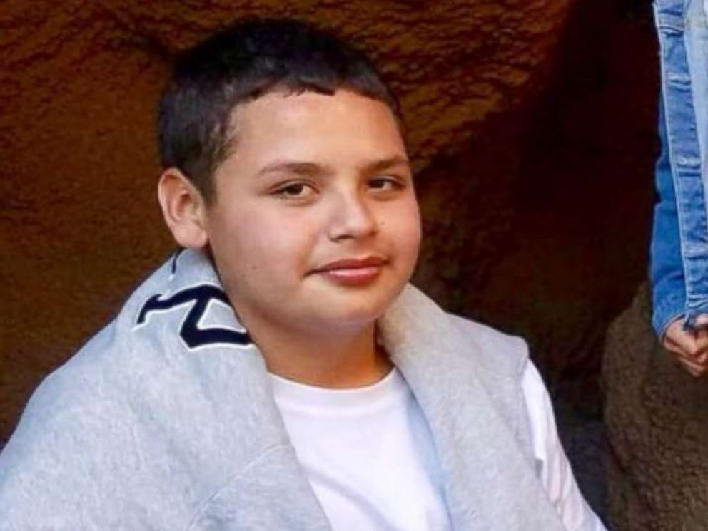 PHOTO: Jesse Hernandez, 13, who fell through a drainage pipe in Los Angeles, April 1, 2018, is seen in this undated photo released by the Los Angeles Fire Department.