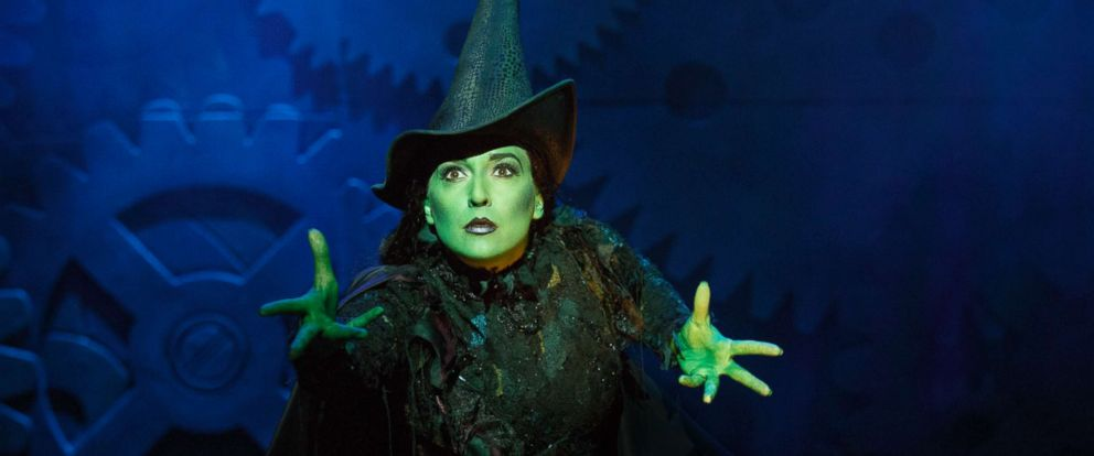 "PHOTO: Jessica Vosk as Elphaba in ""Wicked."""
