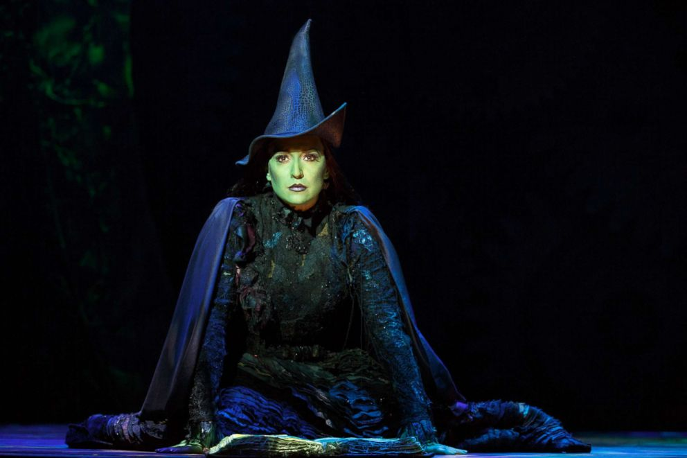 """Jessica Vosk as Elphaba in """"Wicked."""""""