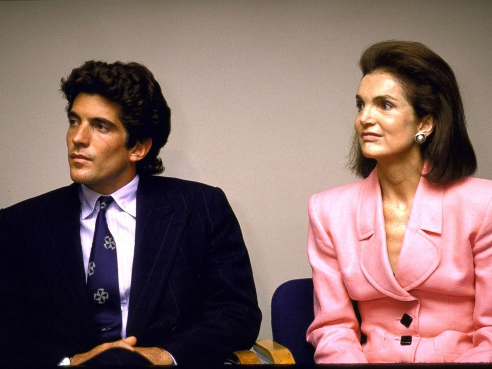 PHOTO: John F. Kennedy Jr. and his mother, former first lady Jackie Kennedy Onassis.