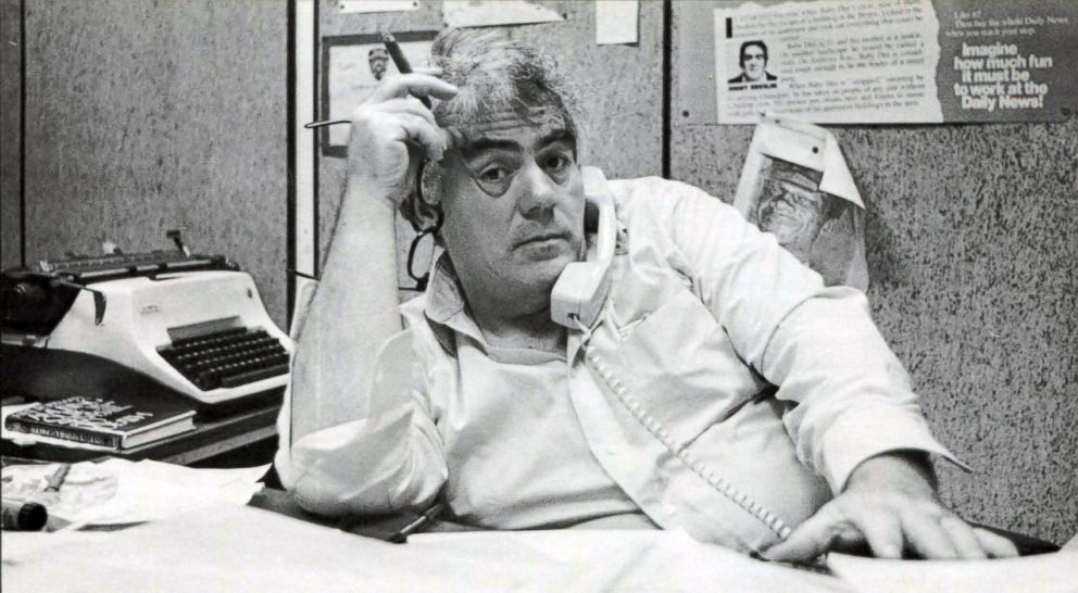 PHOTO: Legendary New York newspaper columnist Jimmy Breslin, 1970.