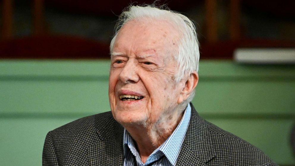 President Jimmy Carter returns to hospital, looks forward to 'returning home soon'