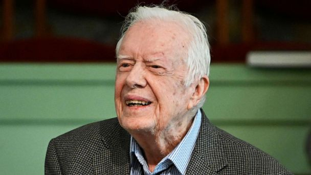 President Jimmy Carter discharged from hospital, looks forward to rest, recovery
