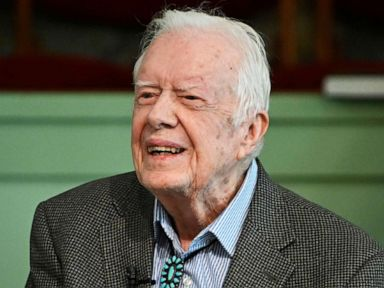 President Jimmy Carter returns to hospital, looks forward to 'returning home soon'