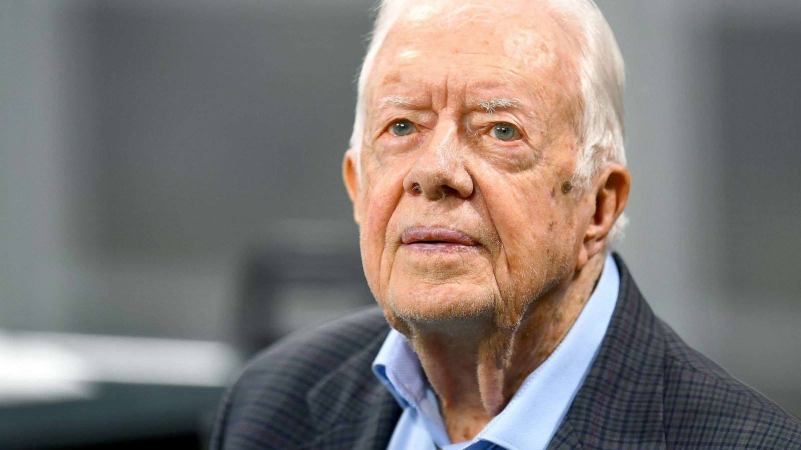 Former President Jimmy Carter Requires 14 Stitches After Fall At Home Feels Fine Abc News