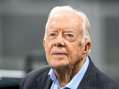 Jimmy Carter requires 14 stitches after fall at home, 'feels fine'