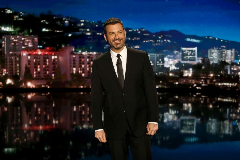 PHOTO: Jimmy Kimmel appears on Jimmy Kimmel Live! on June 11, 2018.