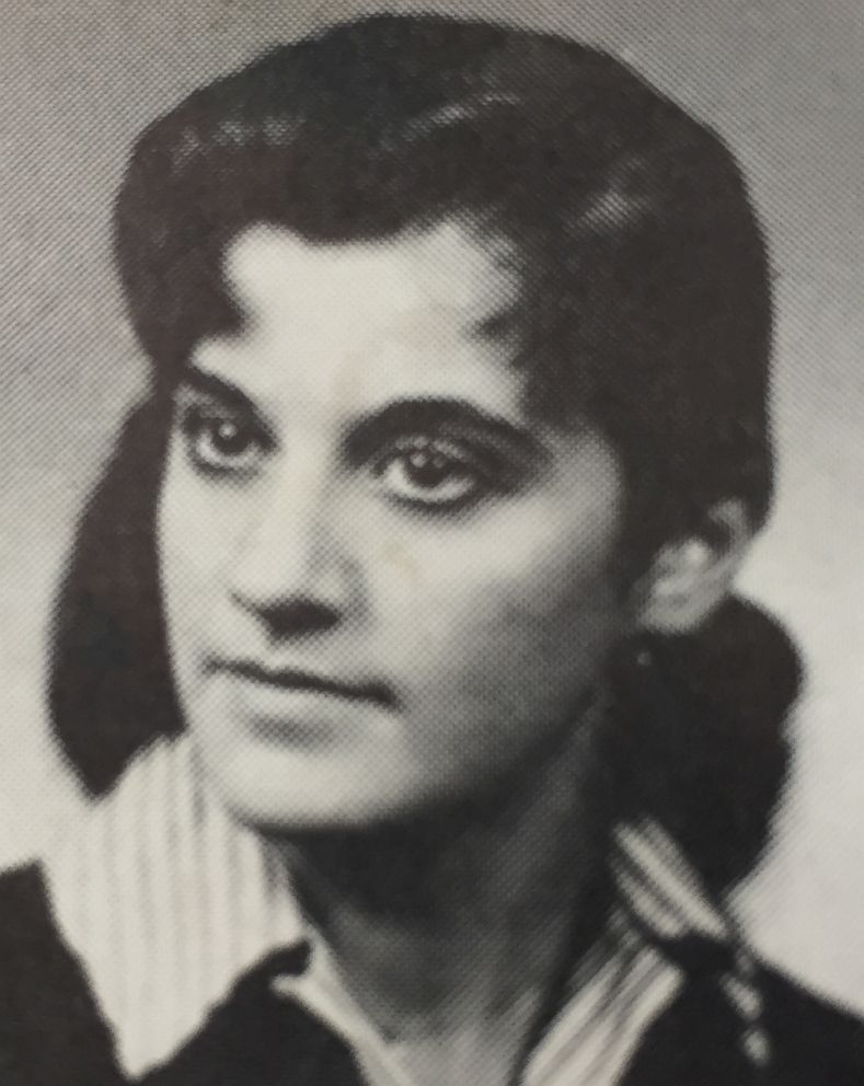 PHOTO: Yearbook photo of Joan Brody when she was 16.