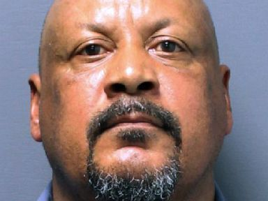 PHOTO: This booking photo released July 18, 2019, by the Pawtucket, R.I., Police Department shows Joao Monteiro, 59, of Central Falls, R.I., who was arrested July 17, 2019 and charged in the January 1988 death of 10-year-old Christine Cole of Pawtucket.