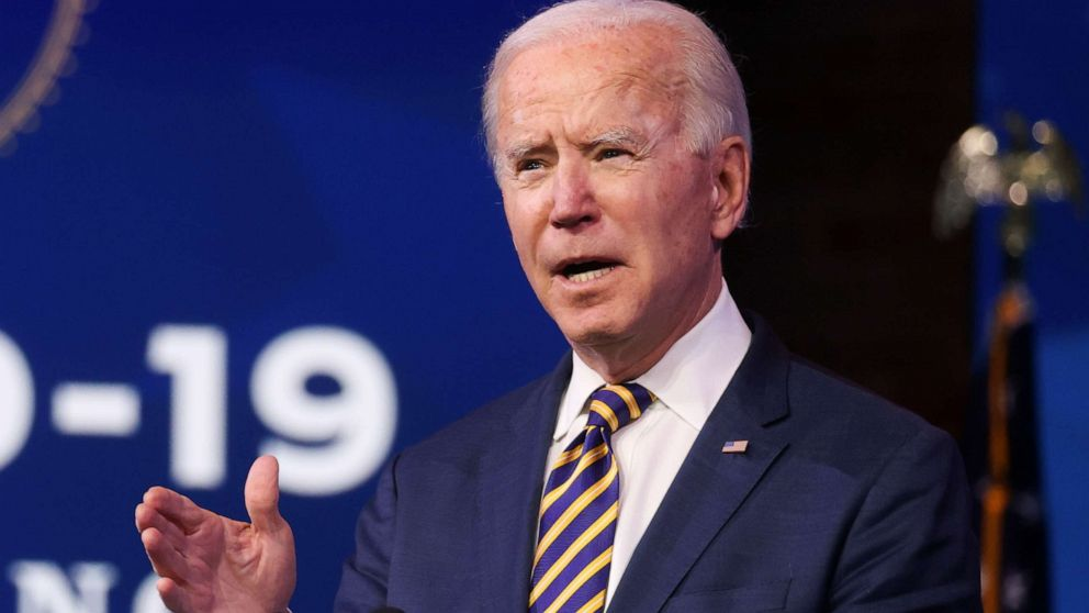 Biden takes Trump to task over lagging pace of vaccinations
