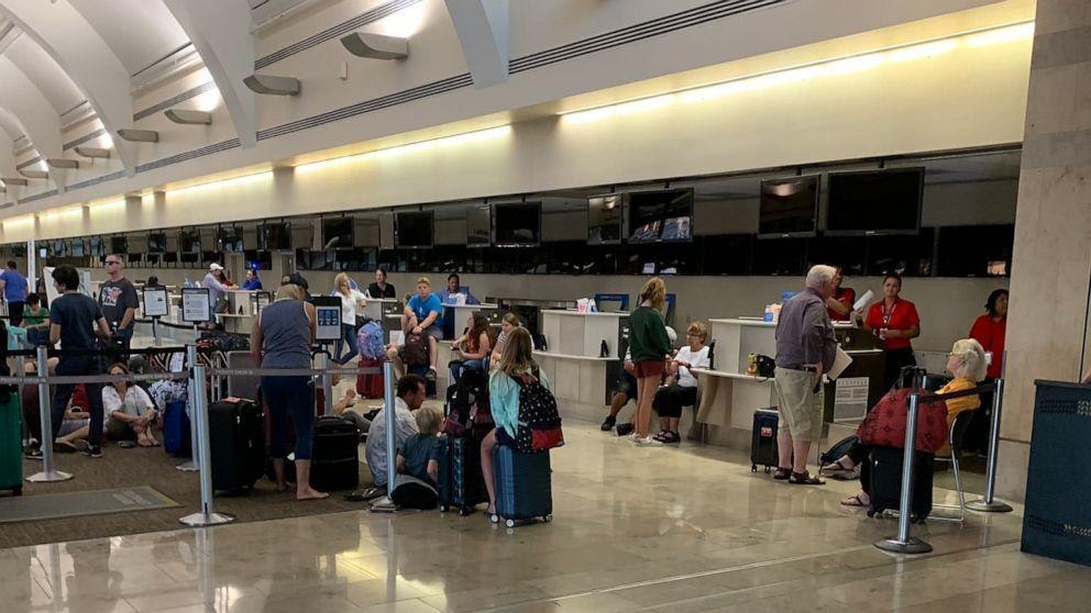 John Wayne Airport in Southern California shuts down due to