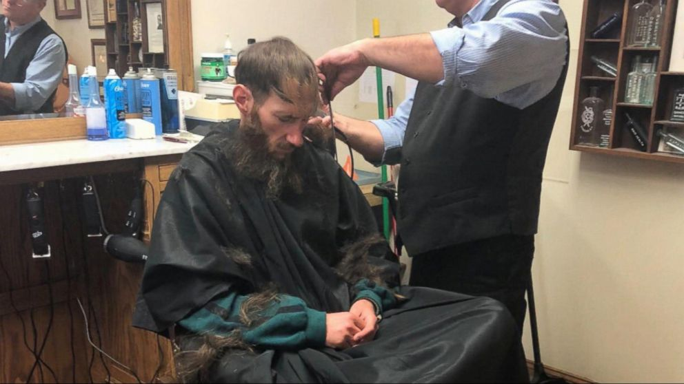 Johnny Bobbitt received a haircut due to the generosity of Kate McClure, who raised more than $360,000 after Bobbitt helped her on the side of the road.