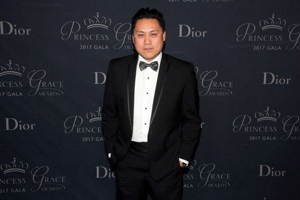 PHOTO: Jon M. Chu arrives to the 2017 Princess Grace Awards gala at the Beverly Hilton Hotel, Oct. 25, 2017, in Beverly Hills, Calif.