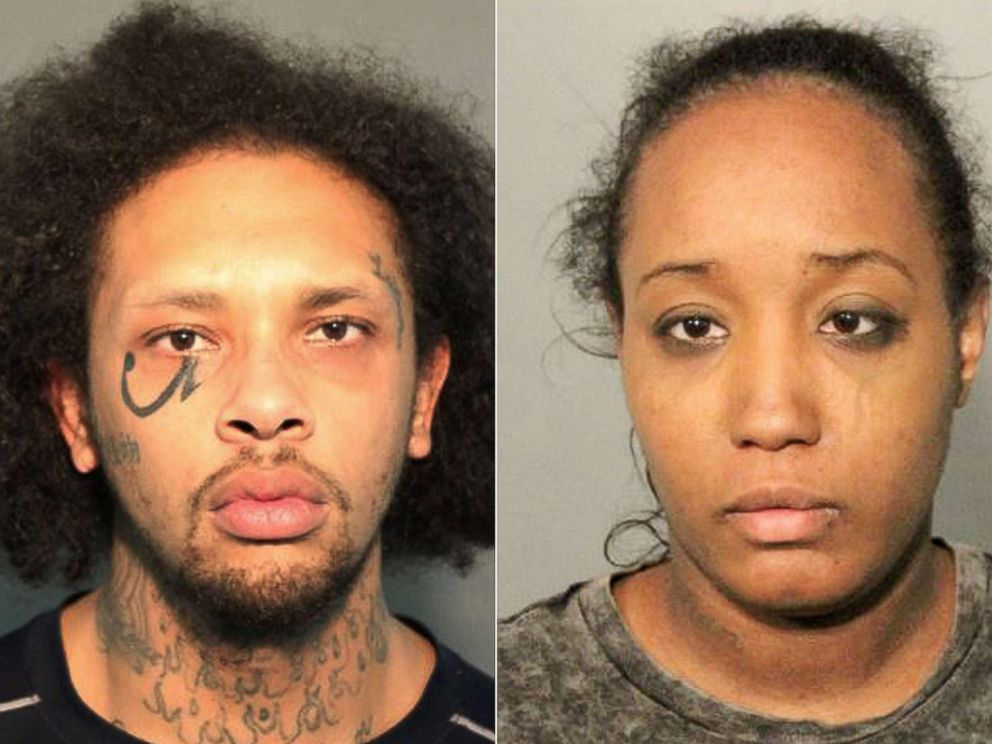 PHOTO: This combination of photos released May 14, 2018, by the Solano County Sheriffs Office show Jonathan Allen, 29 and Ina Rogers, 30.