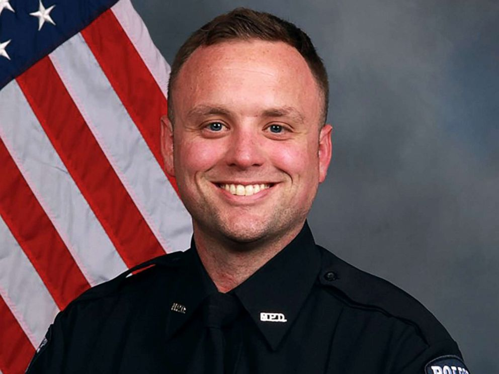 PHOTO: Officer Jordan Harris Sheldon is pictured in this undated photo released by Mooresville, N.C., Police Department.