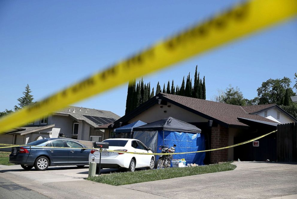 PHOTO: A view of the home of accused rapist and killer Joseph James DeAngelo is pictured on April 24, 2018 in Citrus Heights, Calif.