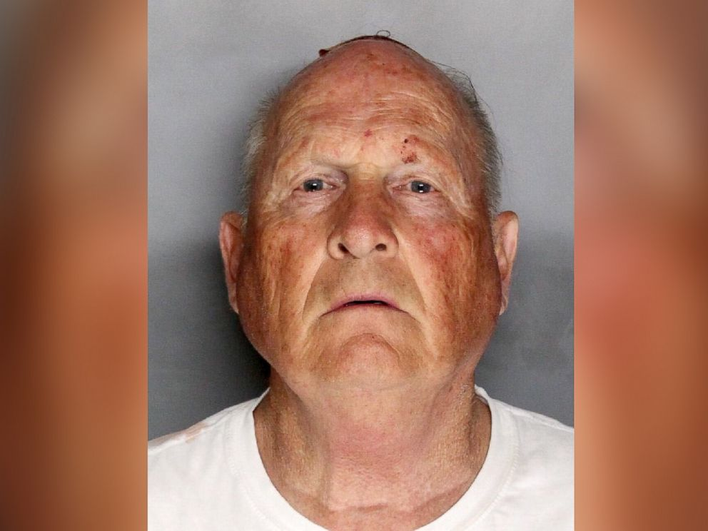 PHOTO: Joseph James Deangelo, known as The Golden State Killer, is seen in this police booking photo, April 25, 2018, after being apprehended.