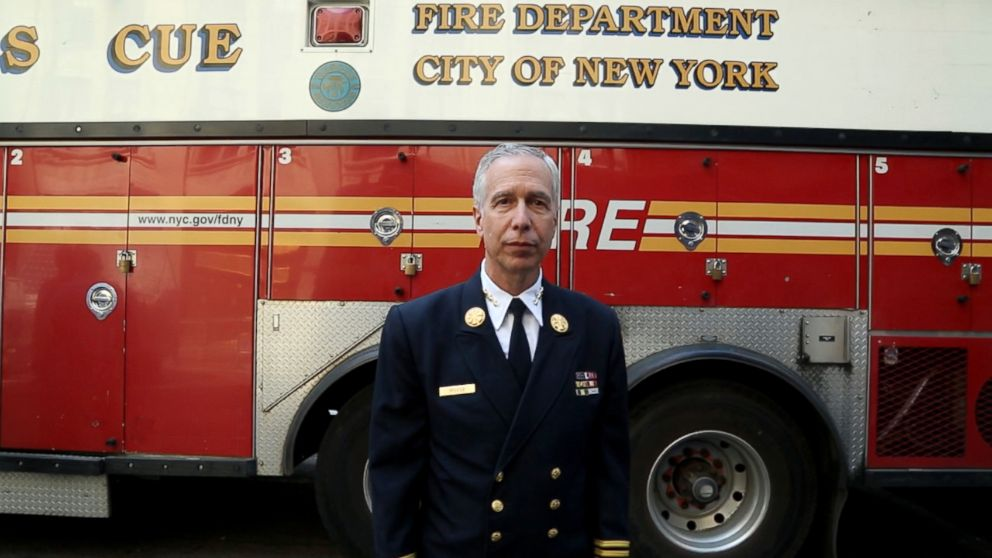 099cd6786 1st FDNY battalion chief to enter the north tower on 9/11 is retiring - ABC  News