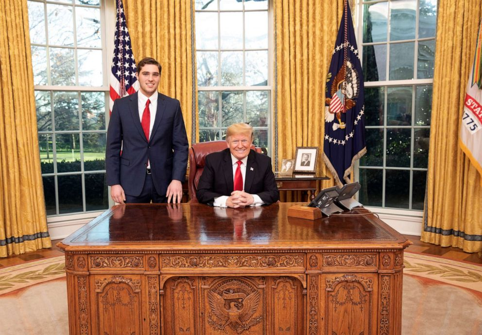 PHOTO: JT Lewis is seen with President Donald Trump.