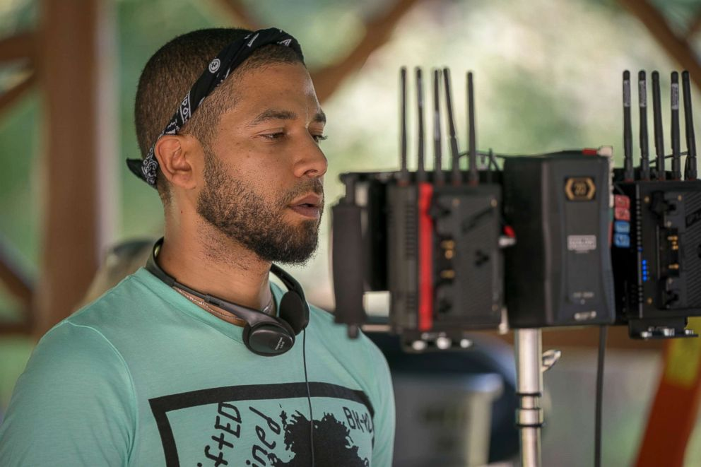 PHOTO: Jussie Smollett directs an episode of Empire, Sept. 20, 2018.