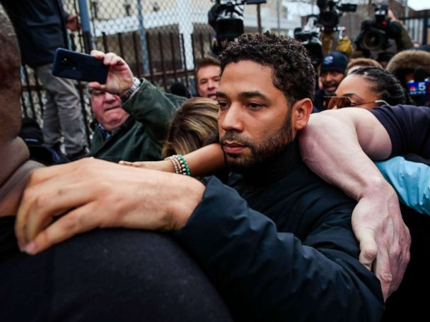 Jussie Smollett sues city of Chicago for 'malicious prosecution'
