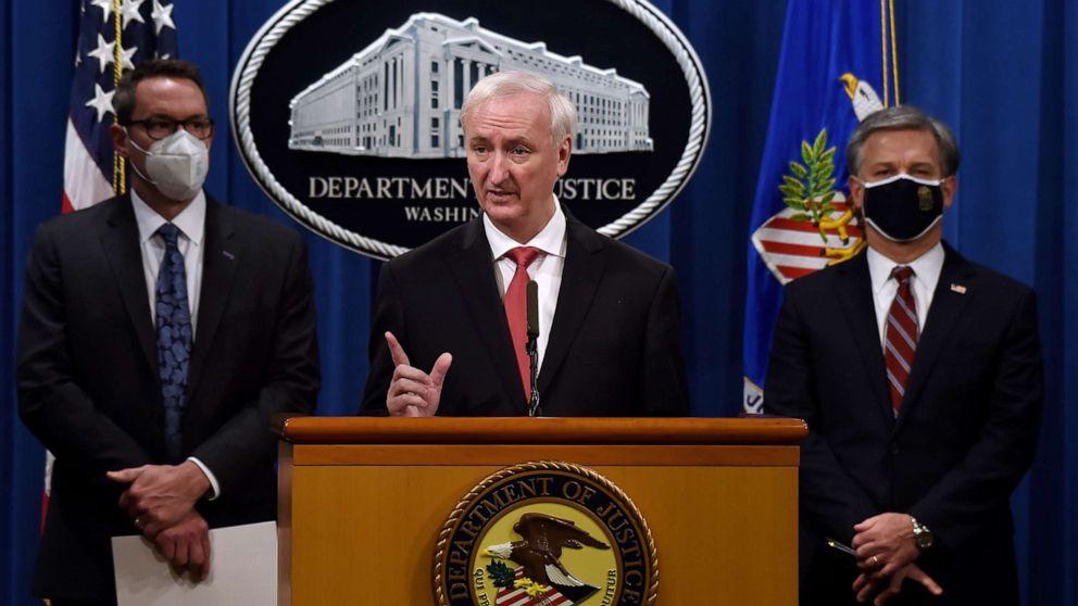 DOJ announces largest drug, gun and cash seizure in darknet history