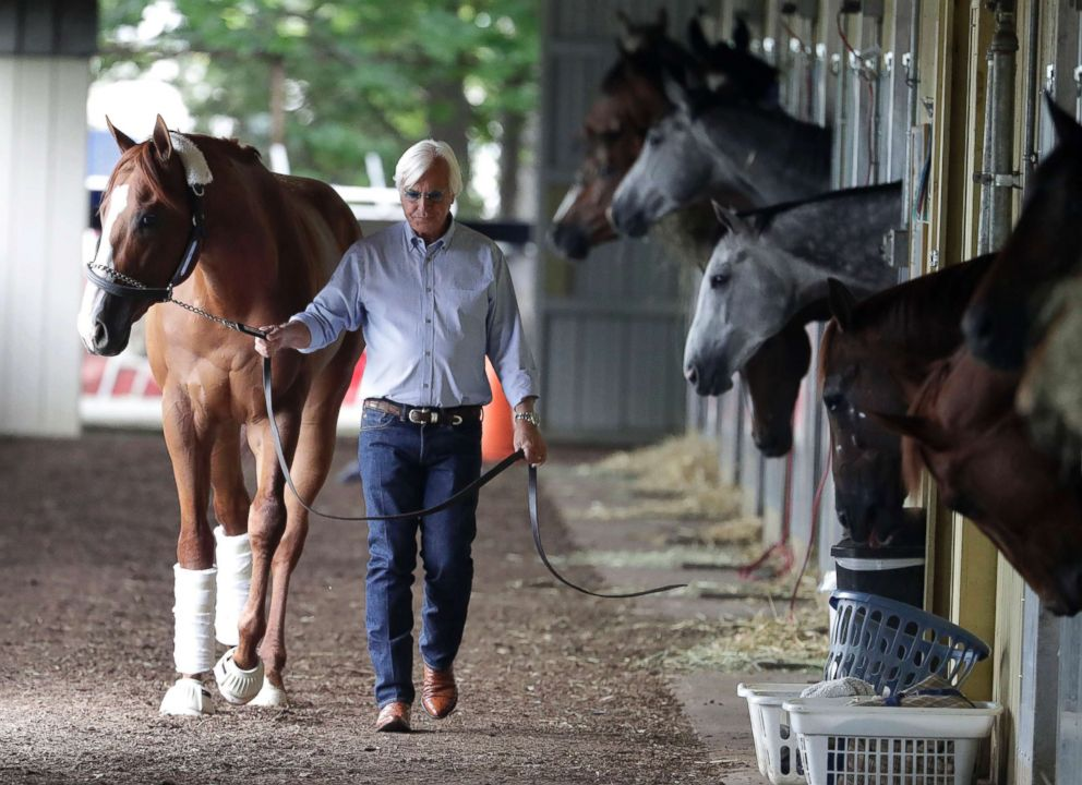 Justify's stablemate Restoring Hope accused of blocking at Belmont Stakes