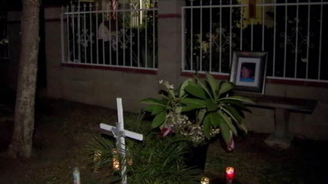 VIDEO: Francisco Gamez, 41, was arrested connection with a homicide in the Sylmar section of Los Angeles.