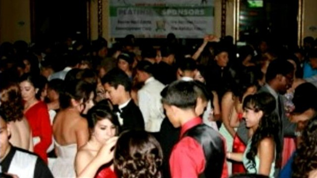 VIDEO: Miscommunication led one California high school to hold their prom a week early.
