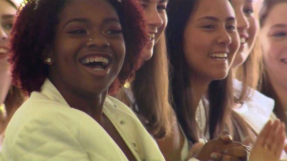 PHOTO: Kai Leigh Harriott at her high school graduation.