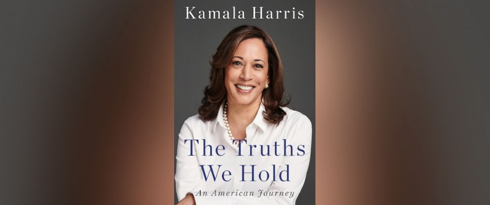 """PHOTO: The book cover for Kamala Harris """"The Truths We Hold."""""""