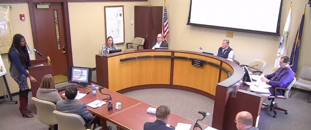 "PHOTO: Louis Klemp, a member of Leavenworth County Board of Commissioners, is coming under fire for using the term ""master race"" when talking to a black consultant during a meeting on Nov. 13, 2018, in Leavenworth, Kansas."