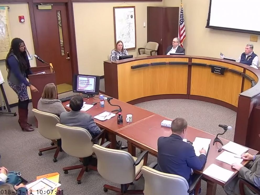 PHOTO: Louis Klemp, a member of Leavenworth County Board of Commissioners, is coming under fire for using the term master race when talking to a black consultant during a meeting on Nov. 13, 2018, in Leavenworth, Kansas.