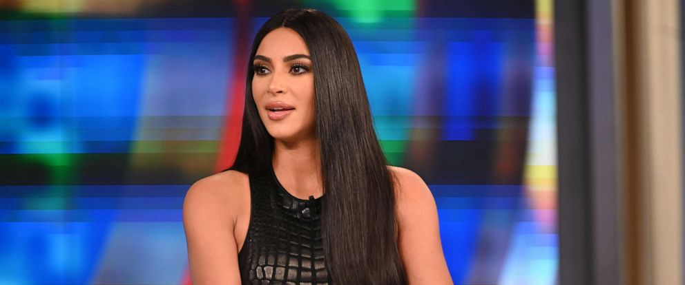 "PHOTO:Kim Kardashian Wests appearance on ""The View"" airs Friday, Sept. 13, 2019, on ABC."