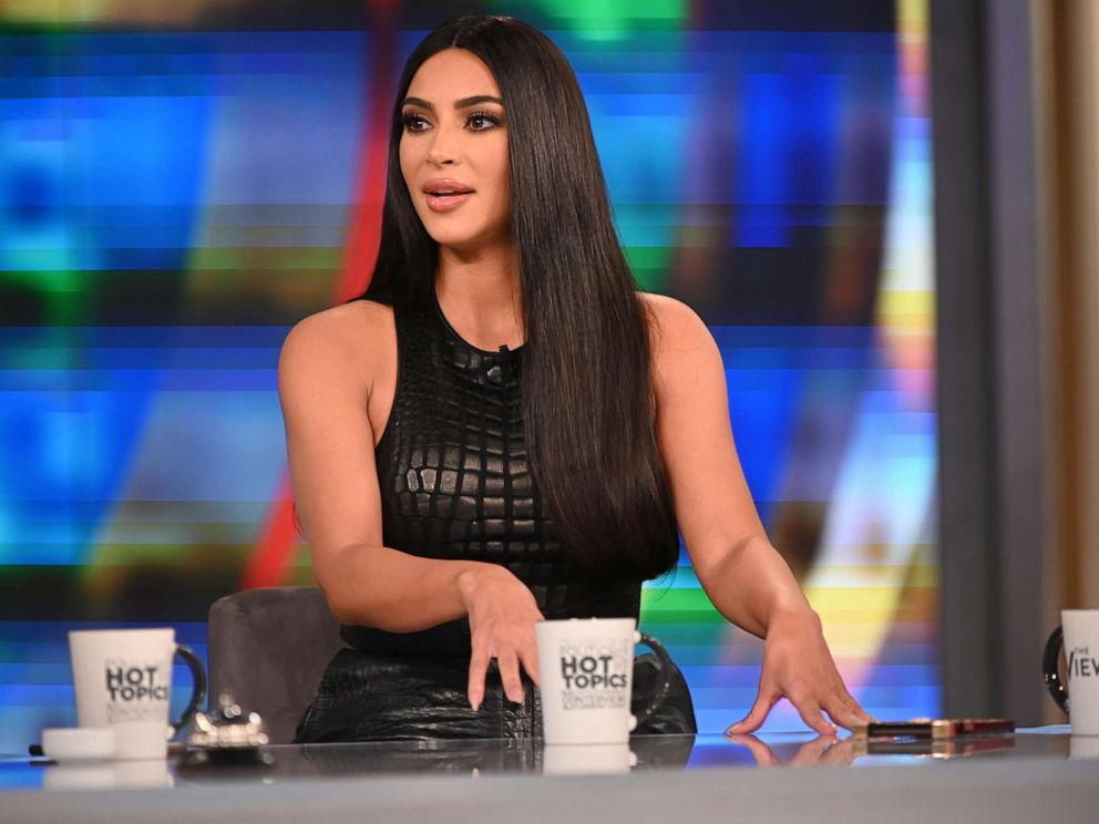 PHOTO:Kim Kardashian Wests appearance on The View airs Friday, Sept. 13, 2019, on ABC.