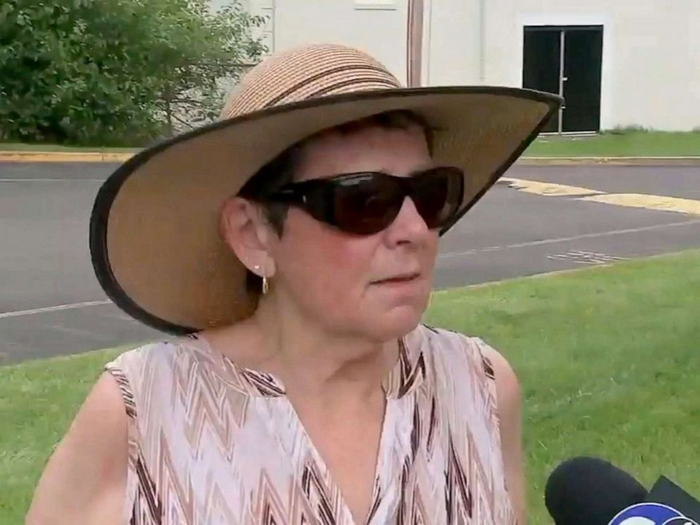 PHOTO: Falls Township, Pennsylvania, resident Kathy Kehoe, 73, killed a cobra she found in her gardenwith a shovel, June 24, 2019.