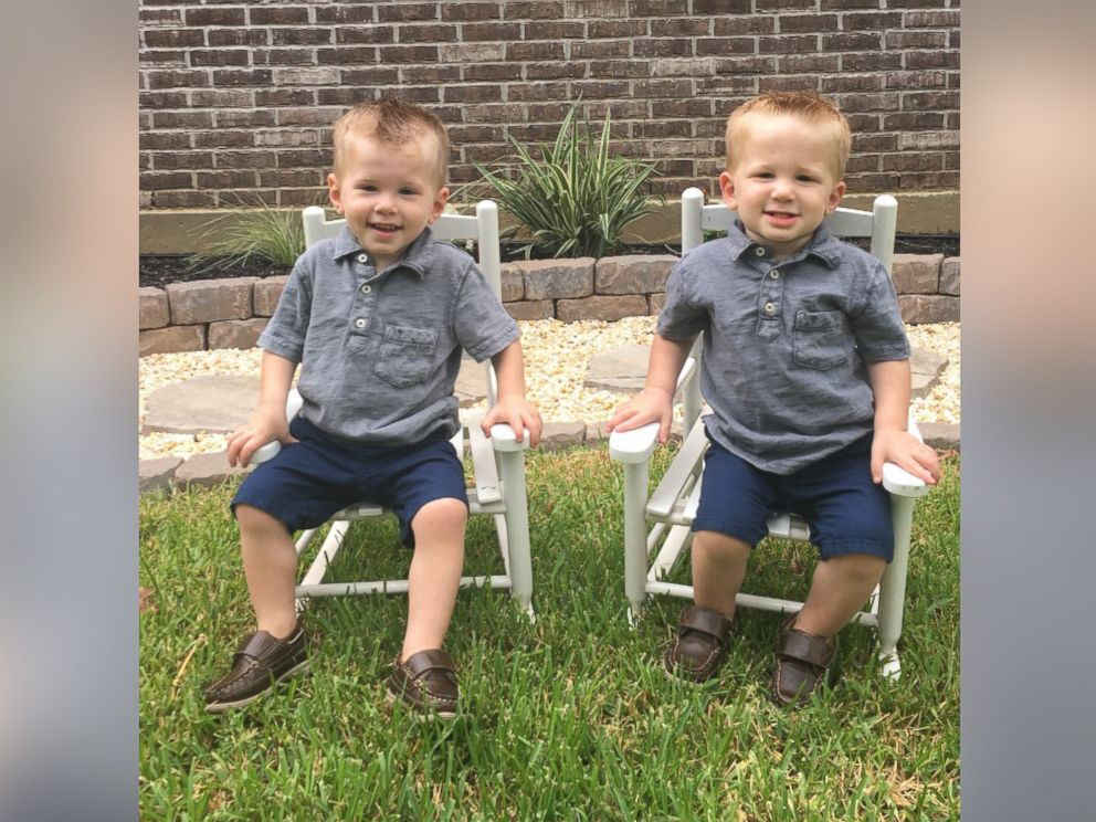 PHOTO: Twins Isaac and Kaden Kelley of Lousiana were pulled out of their backyard pool by their 6-year-old cousin.