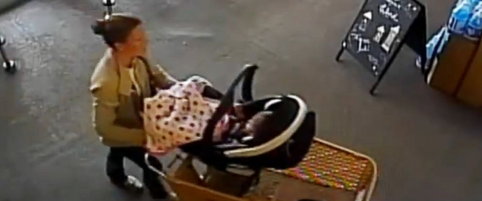 PHOTO: Missing woman Kelsey Berreth is seen entering a Safeway grocery store in Woodland Park, Colo, in surveillance video from Nov. 22, 2018.