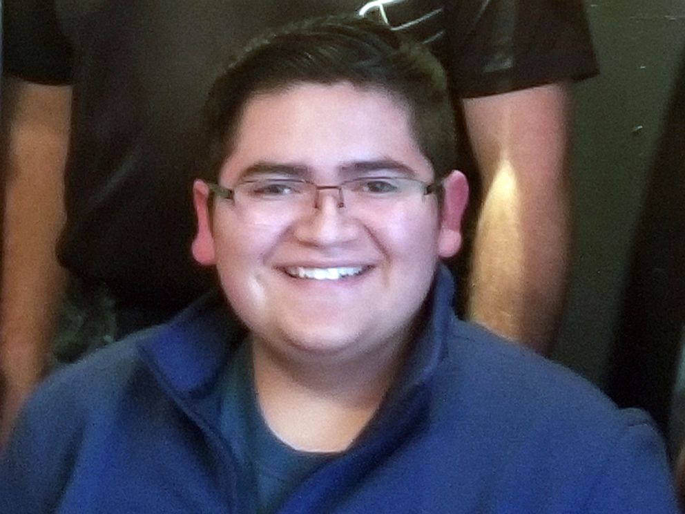 PHOTO: This undated photo provided by Rachel Short shows Kendrick Castillo, who was killed during a shooting at the STEM School Highlands Ranch on Tuesday, May 7, 2019, in Highlands Ranch, Colo.