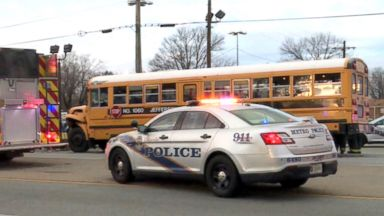 348319409d 41 students suffer minor injuries after 3 school buses crash in Kentucky