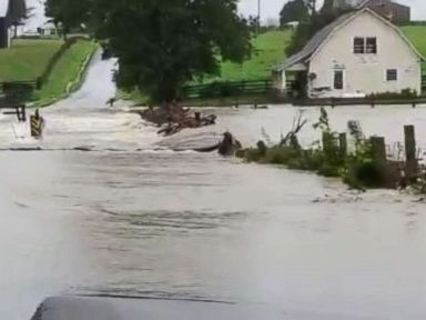 Severe weather bears down on Midwest, Northeast