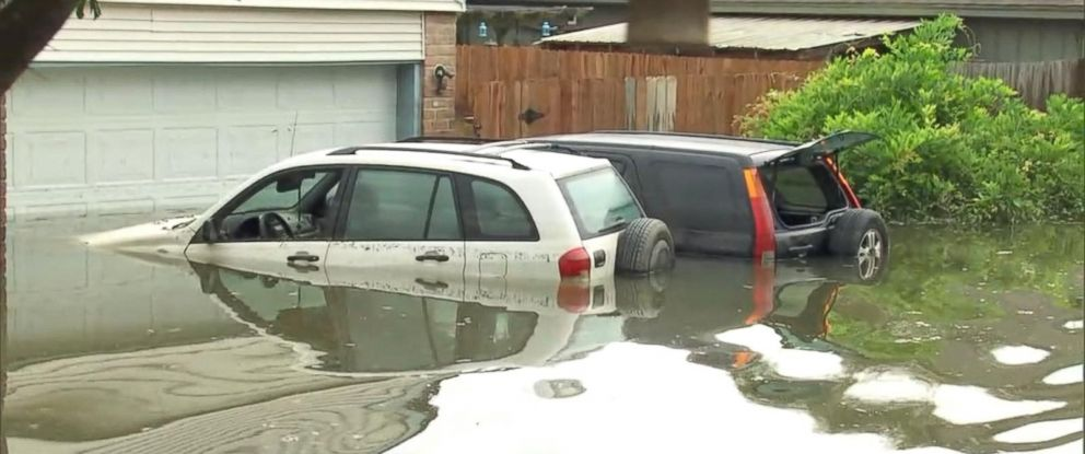 PHOTO: Experts are warning of a potential rise in flood-damaged vehicles hitting the market after Hurricane Harvey.