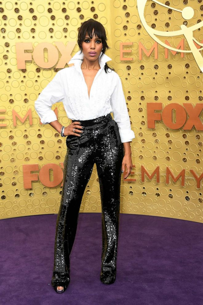 PHOTO: Kerry Washington attends the 71st Emmy Awards at Microsoft Theater on September 22, 2019 in Los Angeles, California.