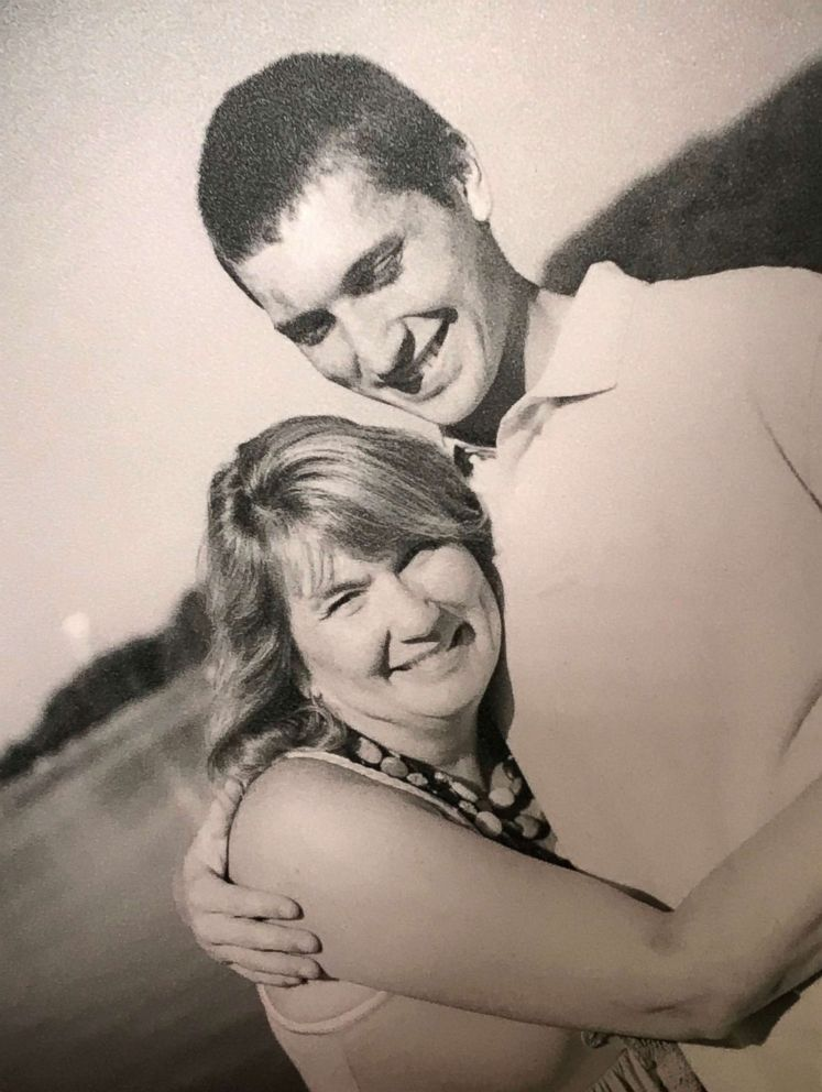 PHOTO: Kevin Bushell with his mom, Karen Bushell.