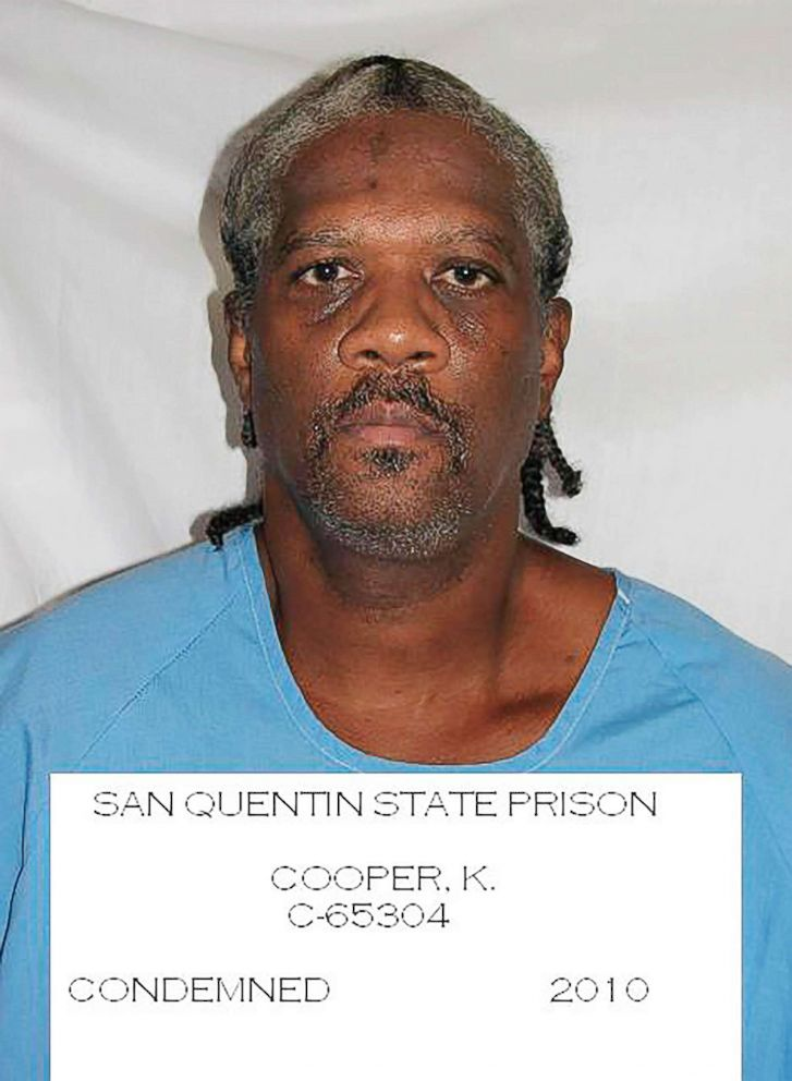 PHOTO: This undated file photo provided by the California Department of Corrections and Rehabilitation shows inmate Kevin Cooper.