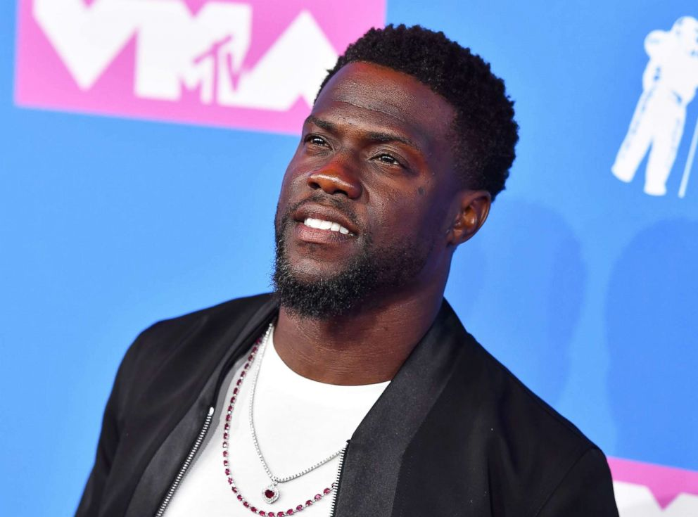 PHOTO: Kevin Hart attends the 2018 MTV Video Music Awards at Radio City Music Hall on Aug. 20, 2018, in New York City.