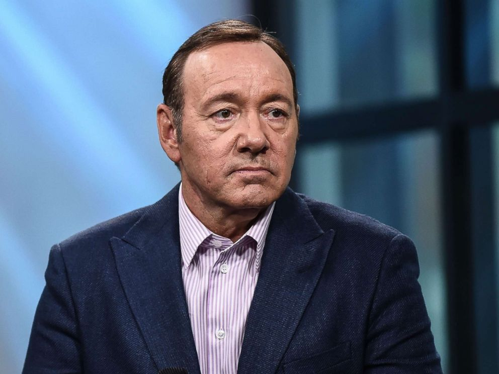 PHOTO: Kevin Spacey discusses speaks during an interview in New York City, May 24, 2017.