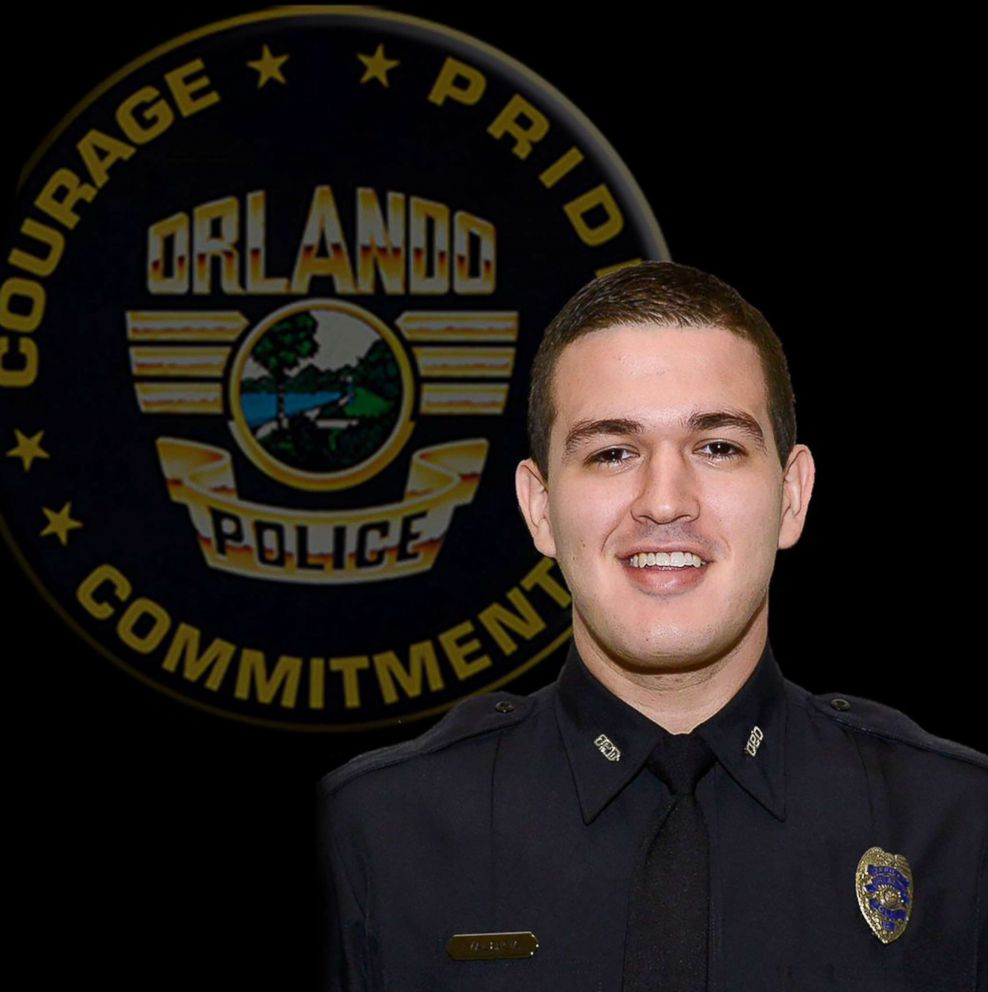 PHOTO: Officer Kevin Valencia is pictured in this undated photo released by Orlando Police Department.